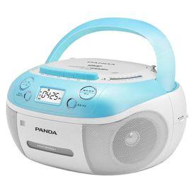 【易购】熊猫 CD-860 DVD/VCD/CD播放机磁带U盘TF卡转录复读 蓝色