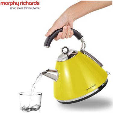 【易购】英国摩飞(Morphyrichards)MR7456A电水壶 304不锈钢电热水壶 黄色