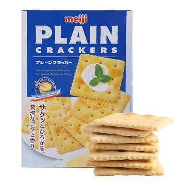 【易购】明治(Meiji) 薄脆饼干 104克(新加坡)