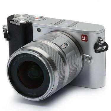 【易购】小蚁微单相机M1标准变焦套机(冰河银)