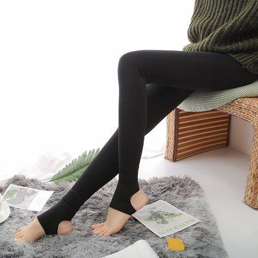打底裤 【微压显瘦女神裤】锦纶磨毛一体裤美腿女士打底裤