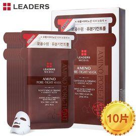【唯品会】丽得姿 韩国进口 丽得姿美蒂优氨基酸收缩毛孔补水面膜10片/盒