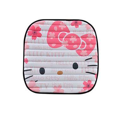 HELLO KITTY 粉色樱花免绑坐垫三件套
