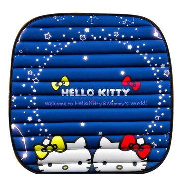 HELLO KITTY 卡通免绑星空坐垫后排