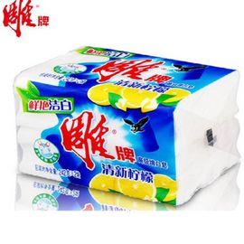 【易购】雕牌 清新柠檬 增白洗衣皂 242g*2(单位:组)