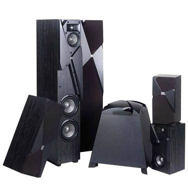 【易购】JBL STUDIO 190BK 音响 音箱 5.1声道 家庭影院套装 落地影院 高保真 hifi套装
