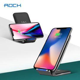 【易购】ROCK W3 苹果x快充无线充电器支架 适用于苹果x/8/8p iPhoneX/8/8P/三星S9/S9+/n