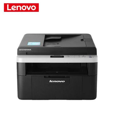 【易购】联想(Lenovo)M7216NWA 黑白激光一体机 WiFi多功能一体机 a4纸照片纸 办公家用(打印 复印