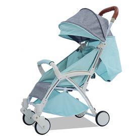 华婴 高景观婴儿推车轻便易折叠宝宝车可坐可躺童车带拉杆手推车