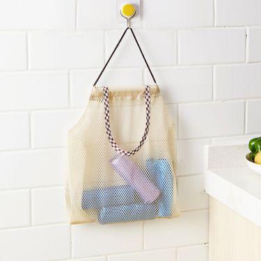YNA 家用多功能水果壁挂袋厨房蔬菜收纳袋网袋