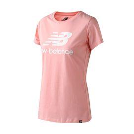 斯凯奇 New Balance/NB女短袖T恤针织圆领休闲上衣AWT81536
