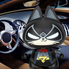【易购】拽猫汽车摆件卡通摇头公仔车内饰品摆件个性创意可爱车载车饰摆件绅士猫