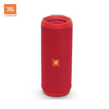 【易购】JBL Flip4 音乐万花筒4 蓝牙小音箱 音响 低音炮 防水设计 支持多台串联 便携迷你音响 音箱 魂动红