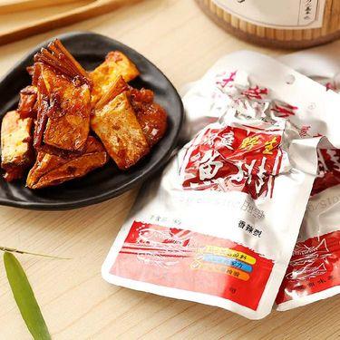 味芝元 肉干肉脯 香辣味鱼排 湖南特产 辣味零食 休闲零食小吃 28g*10