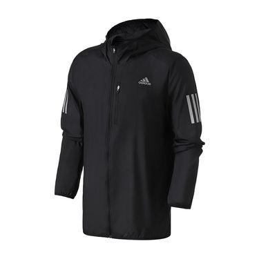 Adidas 女服外套夹克2019新款防风梭织跑步休闲运动服DQ2598