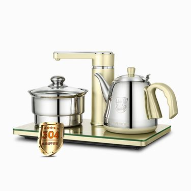 电水壶/热水瓶 韩国现代煮茶器抽水壶烧水壶电热水壶家用上水壶