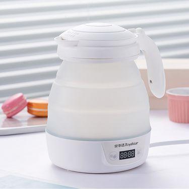 电水壶/热水瓶 荣事达JY08A食品级硅胶壶自动转换电压智能调温可折叠电热水壶