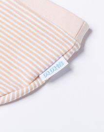 婴幼服饰配件 (两件装)新生儿纯棉帽子条纹初生帽