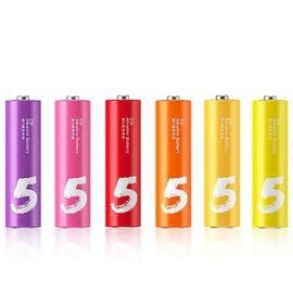 ZMI(紫米)ZI5 紫5 彩虹电池 5号 碱性/儿童玩具/血压计/血糖仪/遥控器/挂钟/键盘电池( 24粒装)