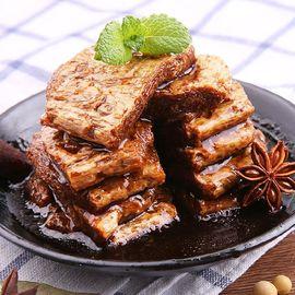 口水娃 年货零食大礼包 豆腐干蛋白素肉 素牛排混合口味500g