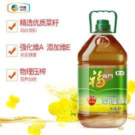福临门 食用油 AE非转基因菜籽油4L 中粮出品