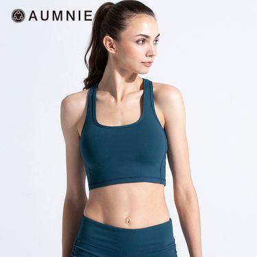 aumnie 澳弥尼丨女士运动上衣健身瑜伽服跑步防震CT活力背心位置