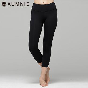 aumnie 澳弥尼 女士运动中裤健身跑步瑜伽服修身显瘦亲密七分裤