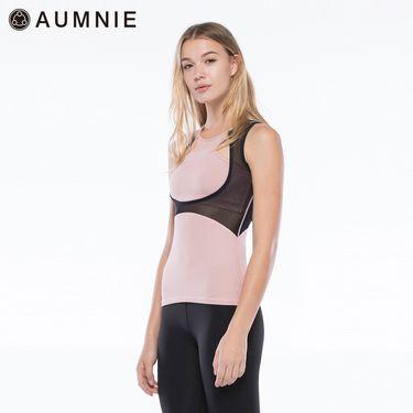 aumnie 澳弥尼丨女士新款运动上衣健身跑步瑜伽服塑形修身岩层背心