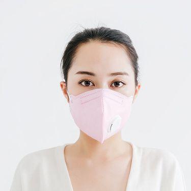 考拉工厂店 FFP3重度防PM2.5 呼吸阀口罩*5