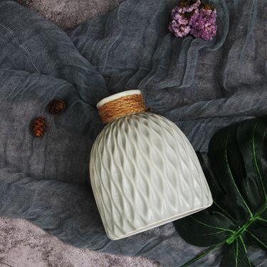 YNA 简约纯色陶瓷插花瓶 单只