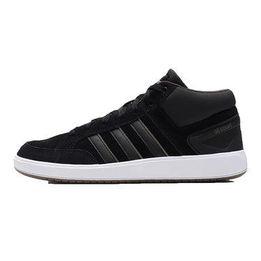 Adidas 男鞋板鞋网球高帮板鞋休闲运动鞋B43858