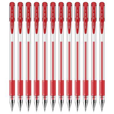 得力 (deli)0.5mm办公中性笔 水笔签字笔 12支/盒 黑色34567