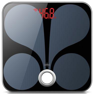 乐心 体脂称智能体脂秤 电子秤 体重秤 智能WiFi数据传输melody 黑色