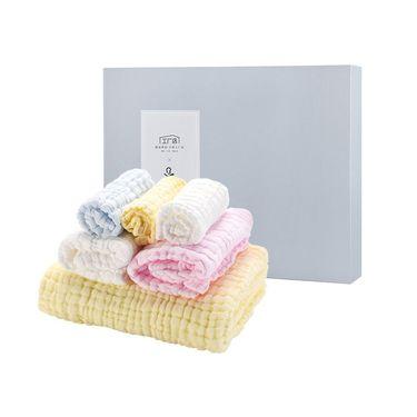 考拉工厂店 婴幼儿浴巾毛巾方巾礼盒
