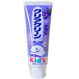 KAO/花王 儿童 木糖醇氟素 防蛀防龋齿 牙膏 葡萄味 70g 单支装 (日本原装进口)