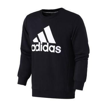 Adidas 男服卫衣2019新款圆领套头休闲运动服DT9937