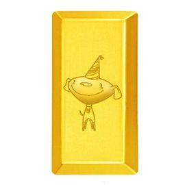 翠绿  Au999京东定制JOY京东狗梯形黄金金条足金金锭A01000120103