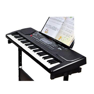 俏娃宝贝 儿童电子琴1-3-6-12岁多功能初学者女孩玩具宝宝钢琴61键