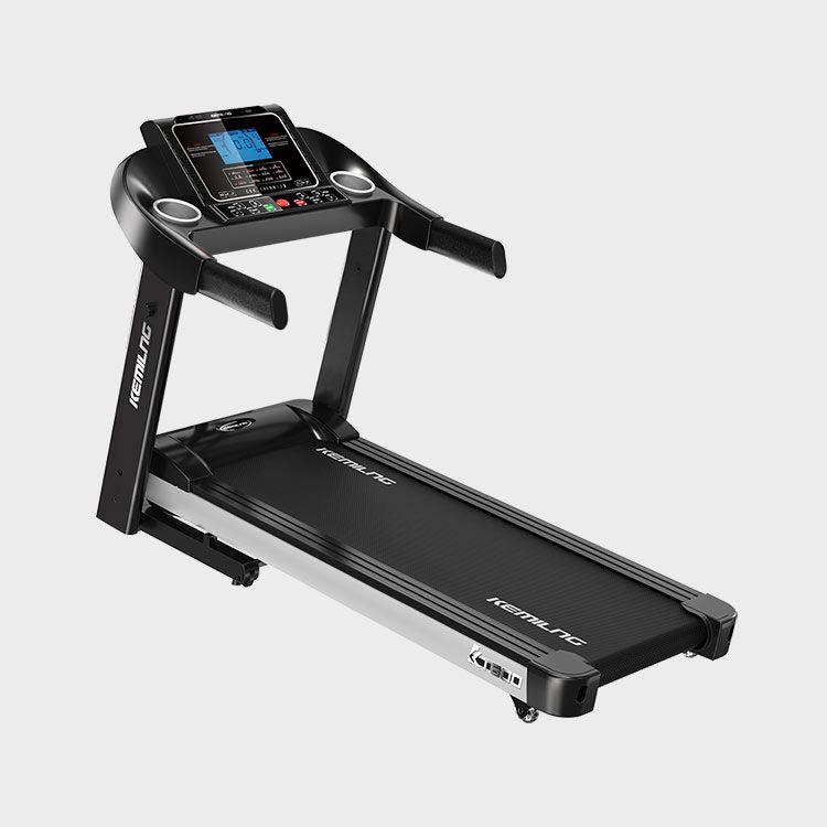 柯迈龙 家用运动健身跑步机K600蓝屏单功能版 LED液晶显示三档坡度加宽跑带回弹减震