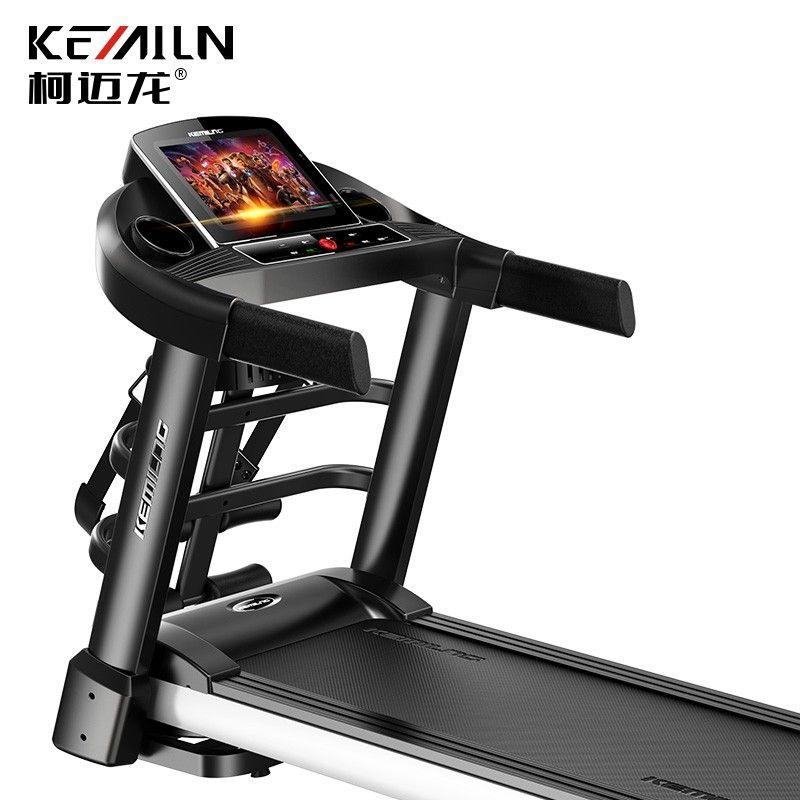 柯迈龙 家用运动健身跑步机K900S多功能彩屏版 10.1�几咔宀势�Wifi连接加宽跑台弹簧减震多功能健身