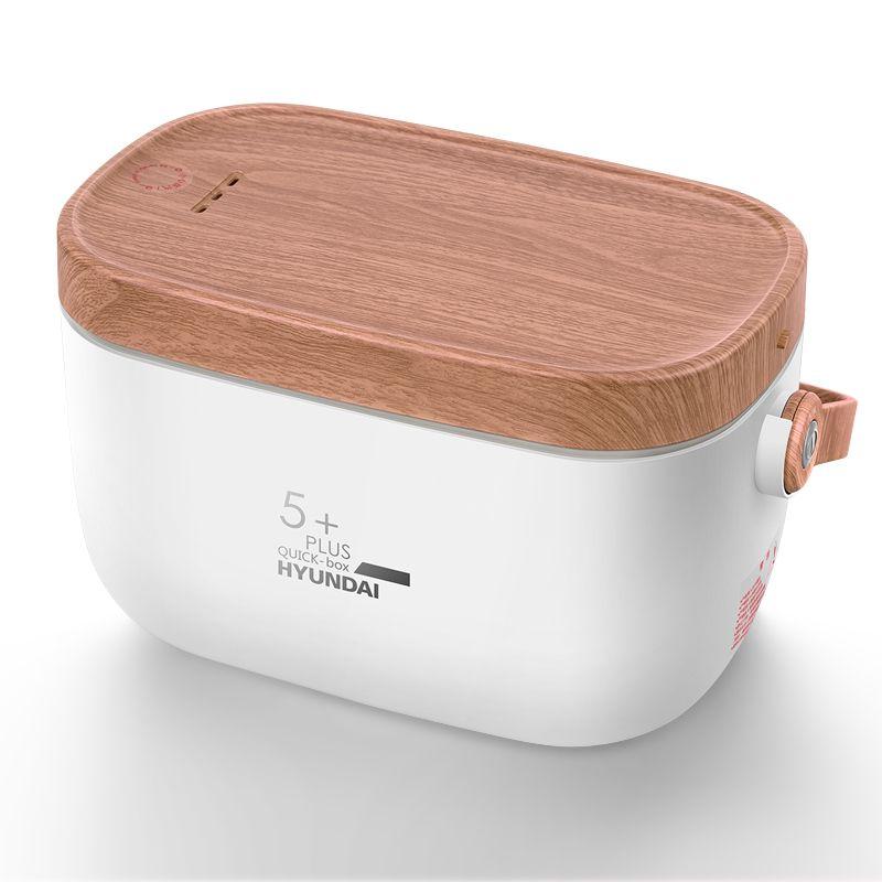 HYUNDAI 韩国现代 电热饭盒 304不锈钢内胆保温饭盒电热饭器加热饭盒 QC-FH603