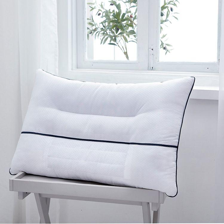 红瑞 优品茉莉花荞麦枕 C93160 凹槽设计草本呵护透气舒适牢固耐用枕头