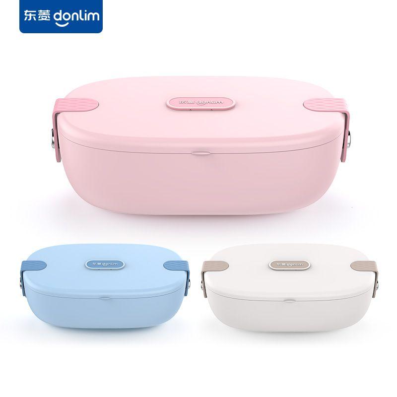 DONLIM 东菱 电热饭盒无水加热便当盒保温自热可插电上班族带饭DL-1166
