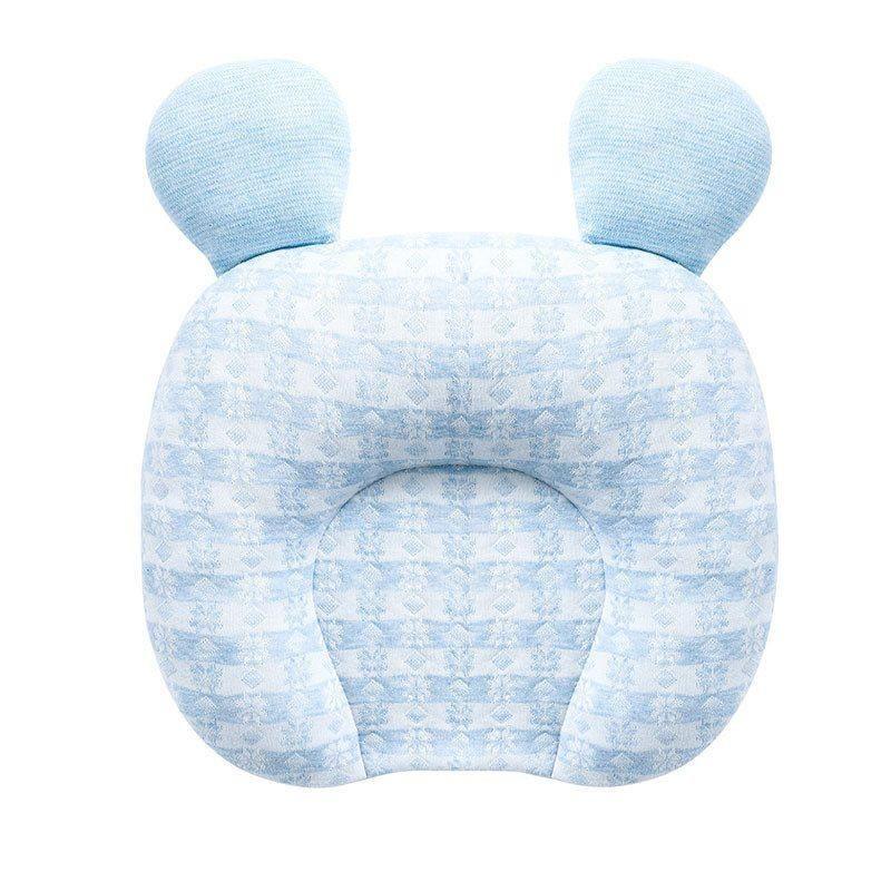 水星宝贝 BABY婴幼儿乳胶定型枕 28cm×23cm BABY婴幼儿乳胶定型枕(婴儿蓝)