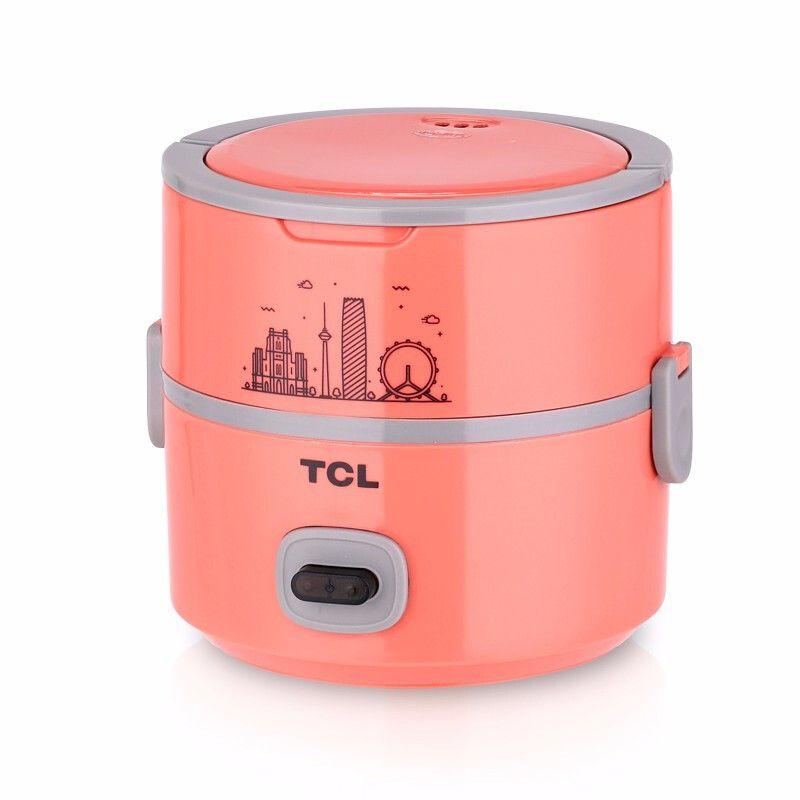 TCL 【现货速发】精典玲珑煲TB-FB201A 电热饭盒 饭盒 餐盒 恒温PTC加热 节约电能